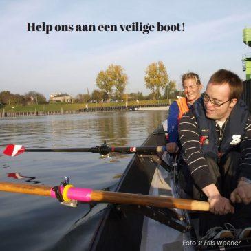 Help ons aan een veilige boot!