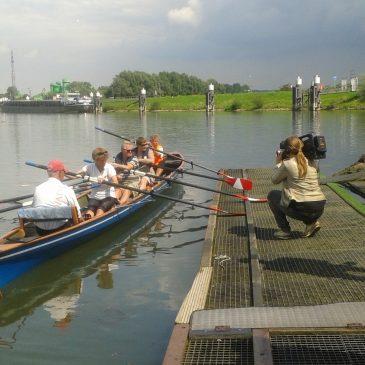 Filmpjes van het Roeien bij WAAG