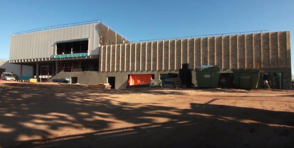 Vordering bouw nieuw zwembad Renkum