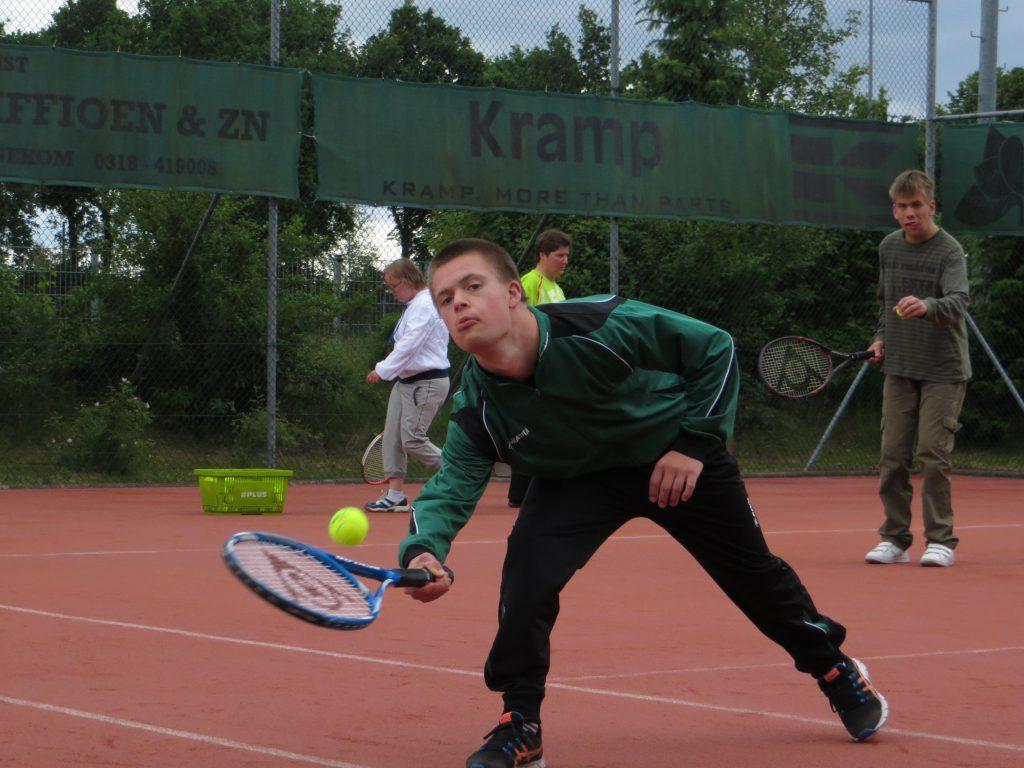 Alternatieve Special Olympics en Padel evenement