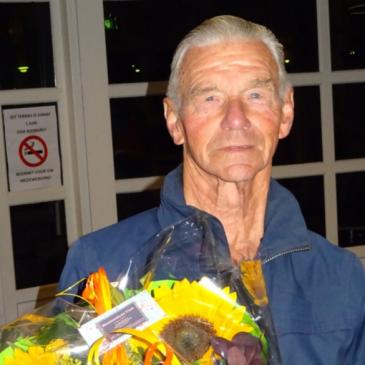 Afscheid Henk Tamming bij dinsdag zwemgroep