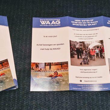"""Nieuwe folders: """"Wageningse Uitdaging"""" bedankt!"""